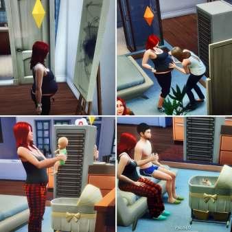 sims pregnant